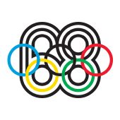 Olympic Games Mexico City in 1968 logo